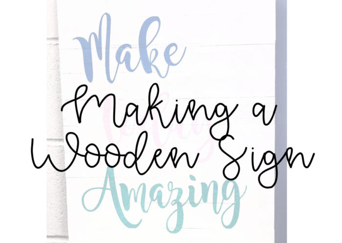 8 Steps On How To Make A Wooden Painted Sign Teaching Creating Living